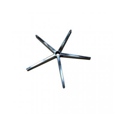 Алюминиевая крестовина для офисных и компьютерных кресел D700 хром