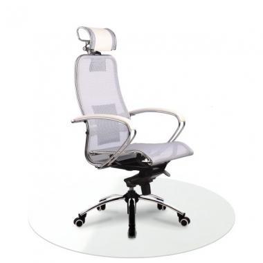 Защитный круглый прозрачный коврик для офисного кресла 100*100 см